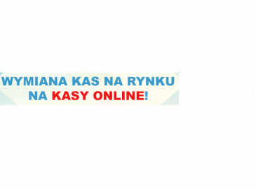 Wymiana kas na rynku na kasy onlineowe